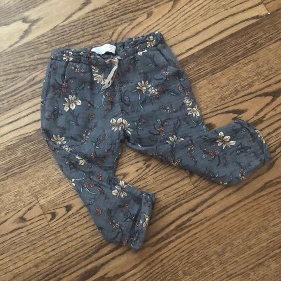 Zara Other - Zara floral pants